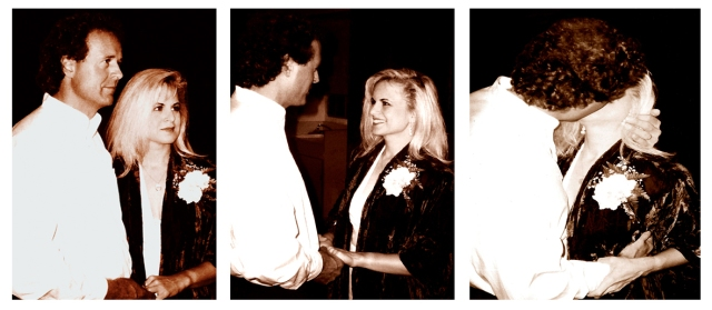 Wedding triptych