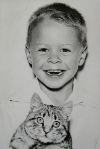 young Pete w:cat