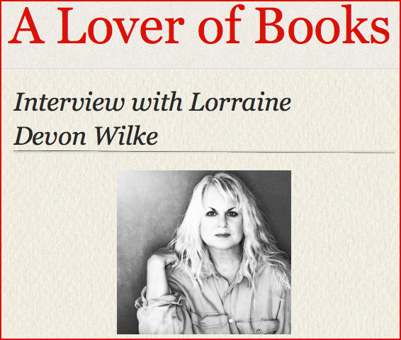 Interview Image from A Lover of Books