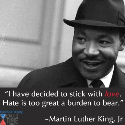 MLK_love not hate