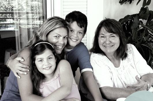Rikki w-Maritza & family